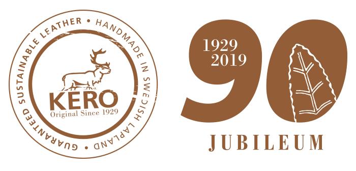 Kero 90 års jubileums logga
