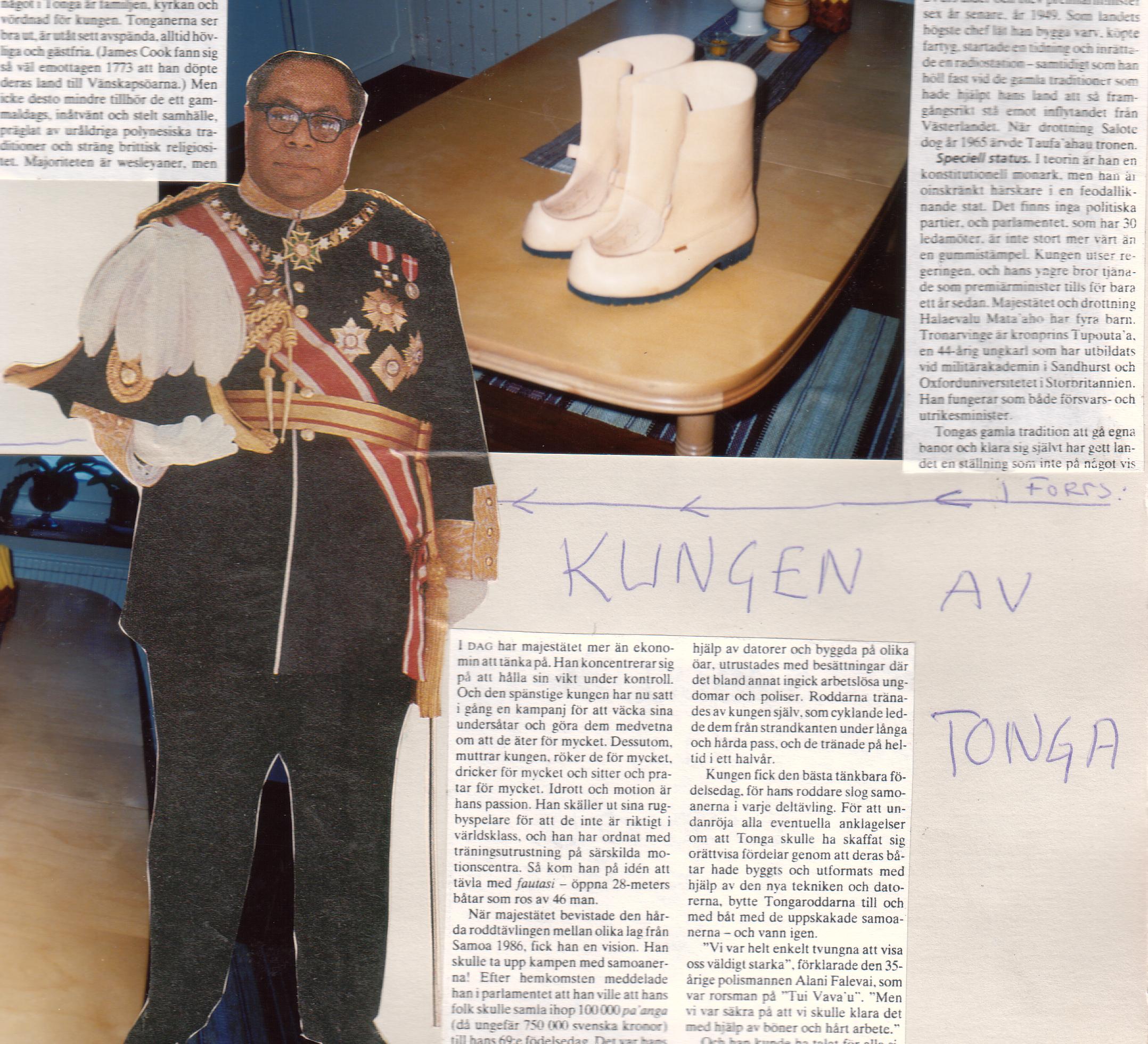 Kungen av Tonga