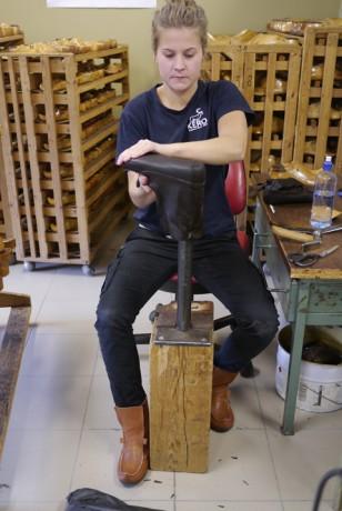 Tryggt hanterat läder