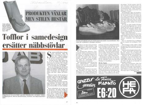 1990: Tofflor på modet