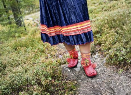 Swedish made sami beak boots and shoes Kero Försäljning AB