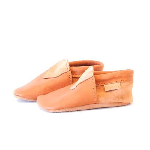 Lammet baby slippers
