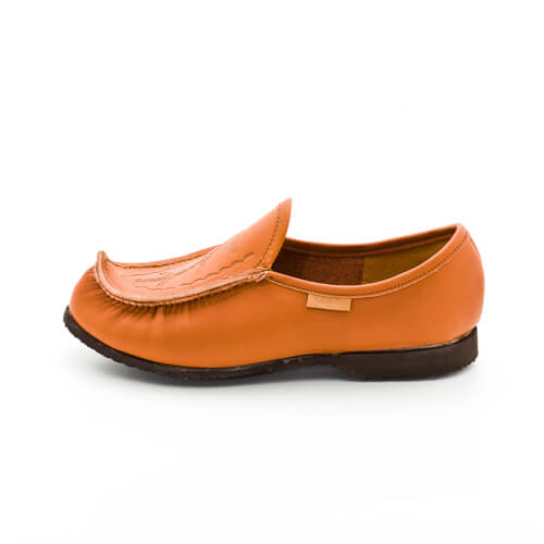 Laponia leather slippers