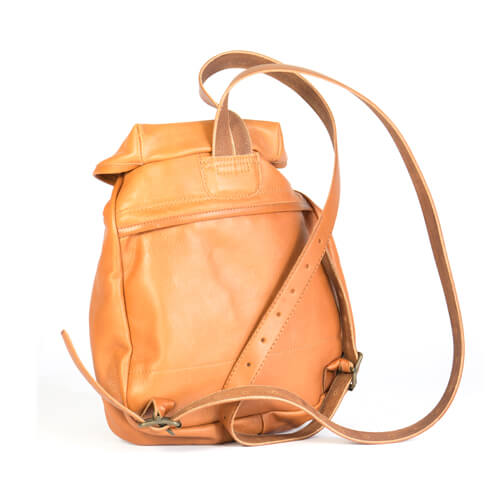 Mini leather backpack 2