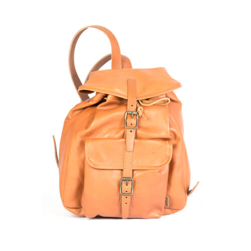 Mini leather backpack 1