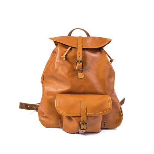Small leather backpack 1