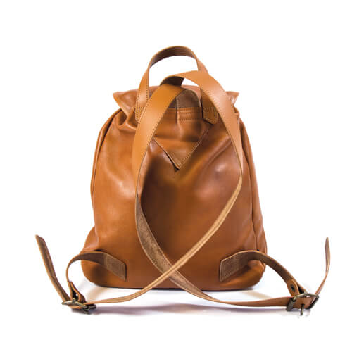 Small leather backpack 2