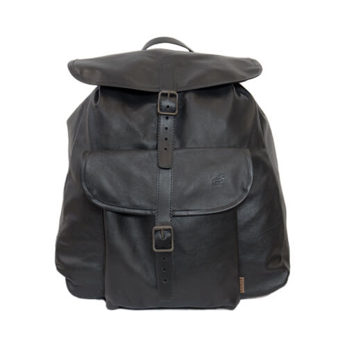 Familjesäcken leather backpack 1
