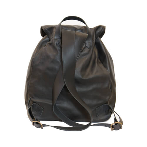 Familjesäcken leather backpack 2