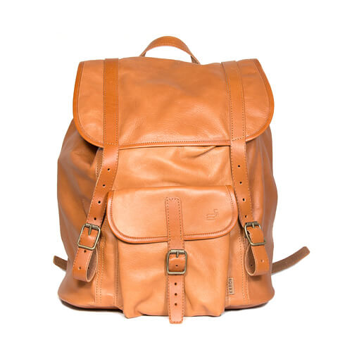 Kerosäcken leather backpack