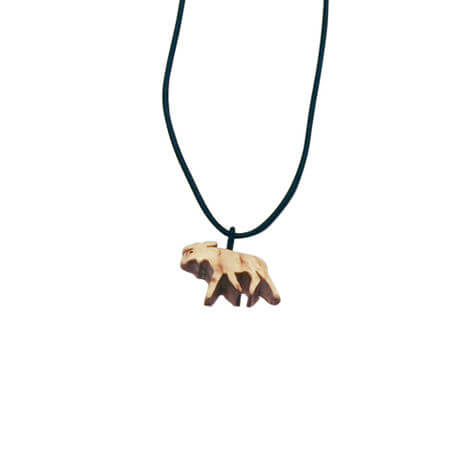 Birch necklace elk 1