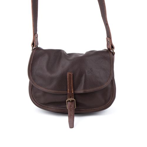 Slängväskan small leather bag