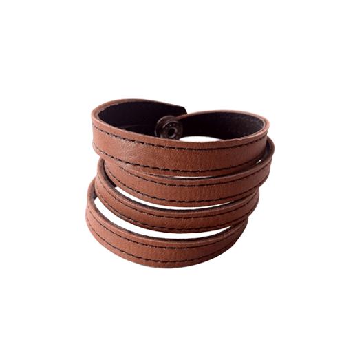 Läderarmband nanna 1