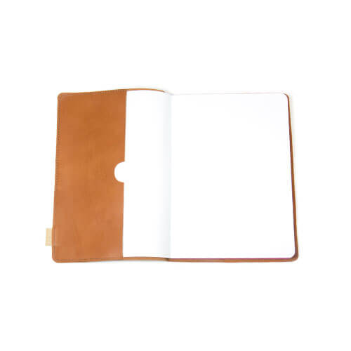 Leather notebook 2
