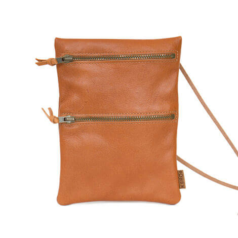 Passport leather bag