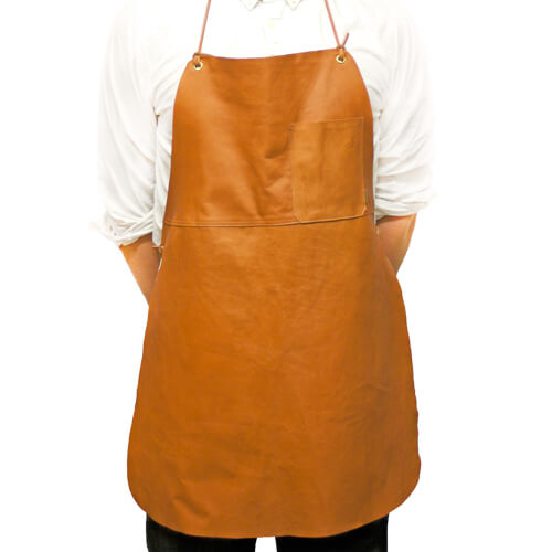 Reindeer leather apron