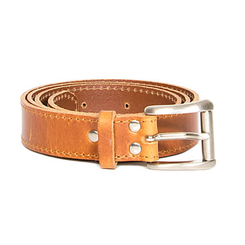Leather belt 3cm