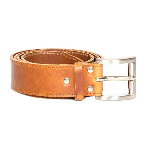 Leather belt 4cm