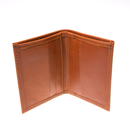 Leather wallet small 1