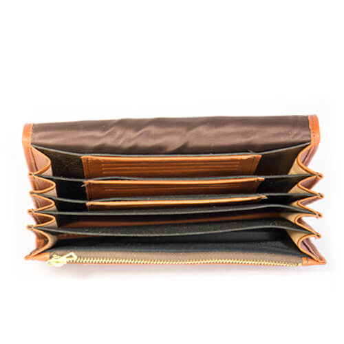 Leather wallet Dragspelaren 3