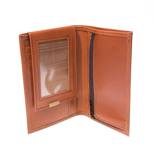 Leather wallet large 1