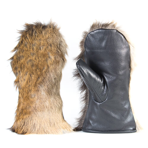 Fallow deer gloves 1