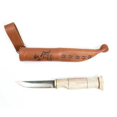 Renhornskniv 8,5cm 1