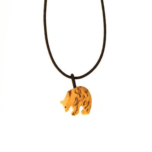 Birch bear necklace 1