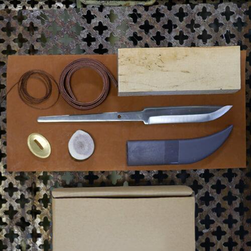 Scandinavian knife making kit 1